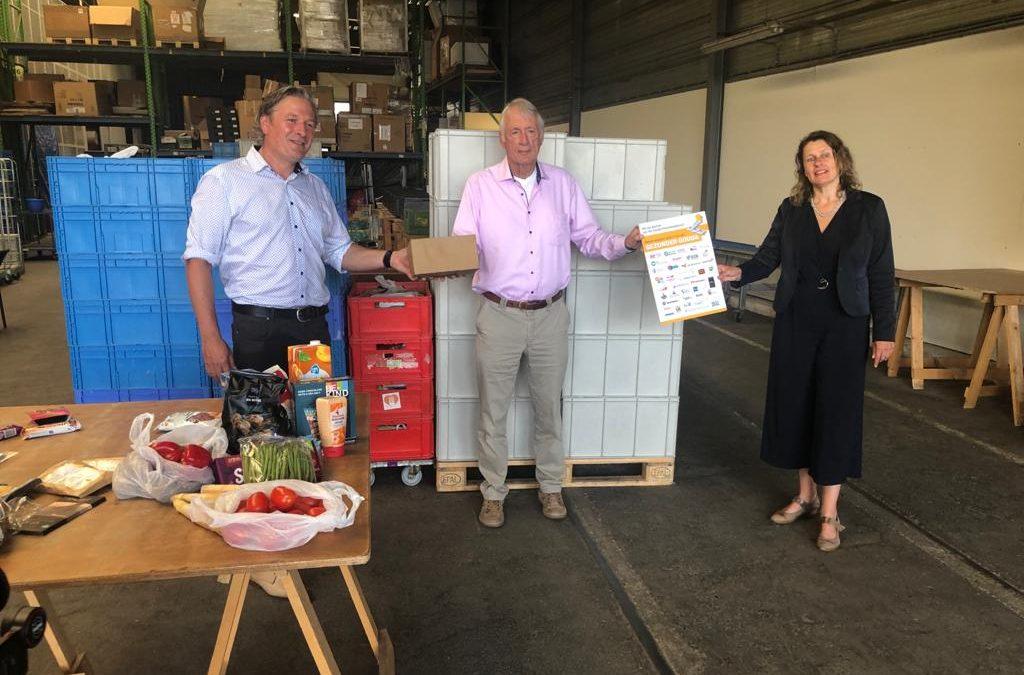 Preventieakkoord brengt wethouders naar Voedselbank Gouda
