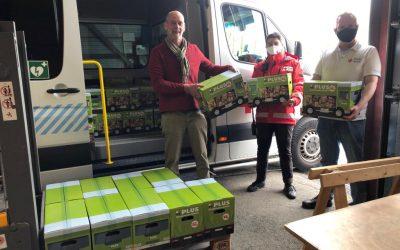 Rode Kruis schenkt 260 voedselpakketten.